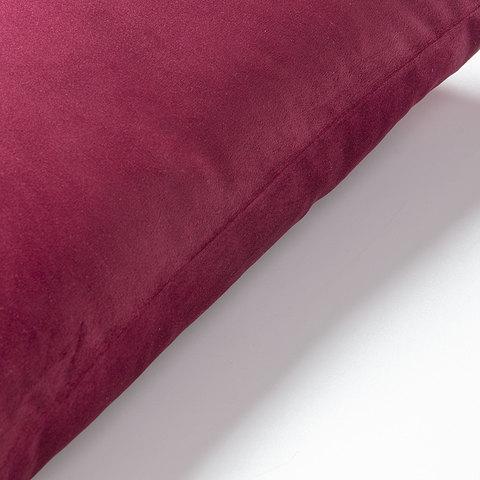 Чехол на подушку Jolie 45x45 бордовый