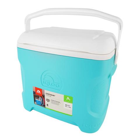 Изотермический контейнер (термобокс) Igloo Contour 30 (28 л.), голубой