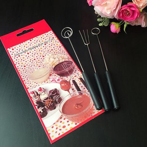 Инструменты-стеки для шоколада 3в1 (h-20см)
