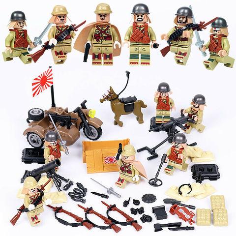 Минифигурки Военных Японская Армия серия 408