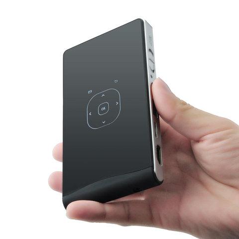 Проектор Excelvan DLP100WM 8GB (Android, WiFi) портативный