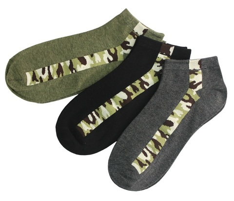 Носки мужские укороченные Хлопок арт.8008 (12 пар)
