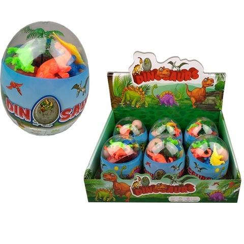 Игрушка в пластиковом яйце DINO 1кор*24бл*6шт