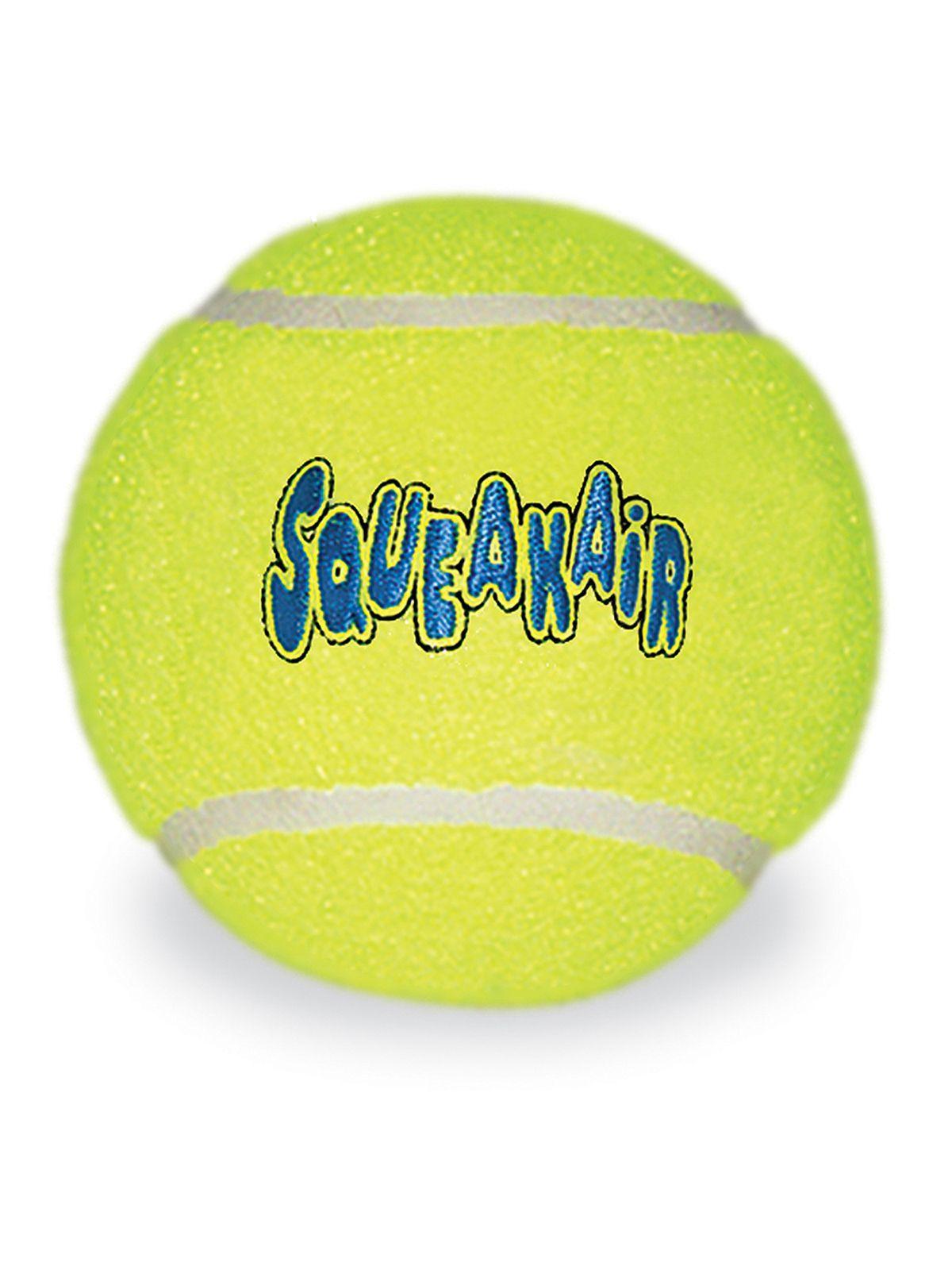 """Игрушки Игрушка для собак KONG Air """"Теннисный мяч"""" очень большой 11 см ASTXB_1.jpeg"""