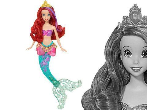 Кукла Принцесса Диснея Ариэль, меняет цвет