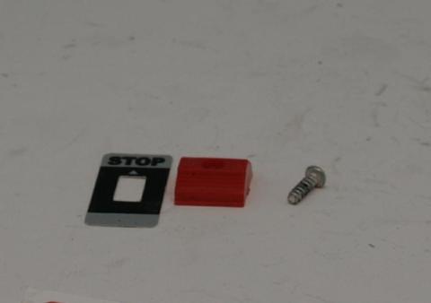 Клавиша DDE GB25RD/GB32RD/GB420RD выключателя (60308/30-1052)
