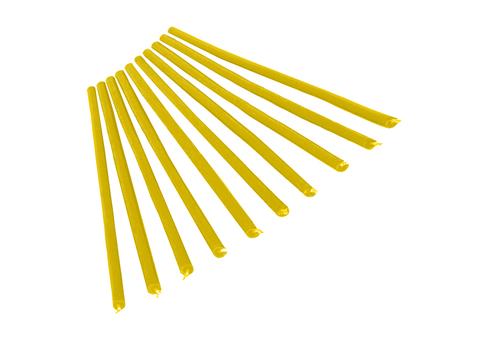 Свеча 1-часовая тонкая желтая