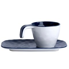 Melamine Coffee Set, Summer, colour Blue