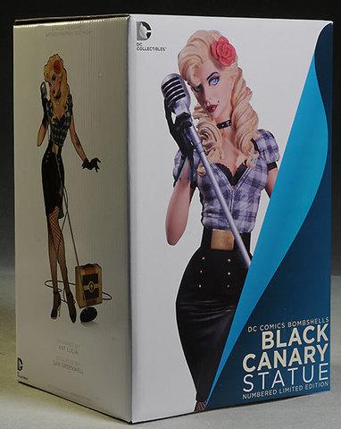 DC Comics Bombshells - Black Canary