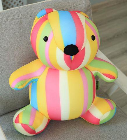 Подушка-игрушка антистресс Gekoko «Мишка Мультифрукт» 3