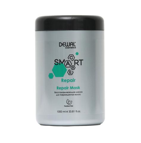 Маска восстанавливающая Dewal Cosmetics  (DCR20202) для поврежденных волос SMART CARE Repair Mask 1000 мл