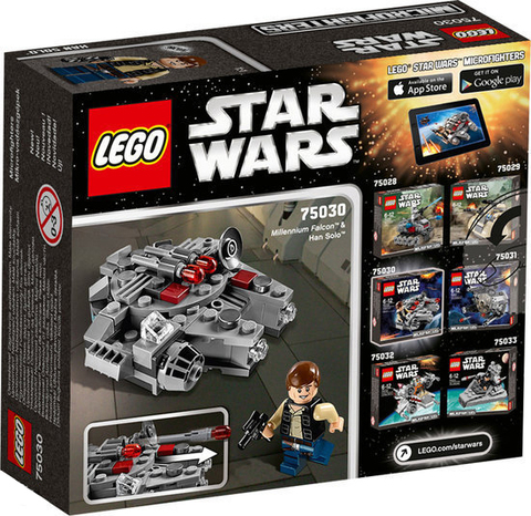 LEGO Star Wars: Сокол Тысячелетия 75030 — Millennium Falcon — Лего Стар ворз Звёздные войны Эпизод