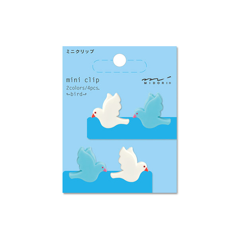 Зажимы Midori Mini Clip - Bird