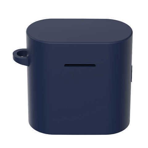 Чехол на Xiaomi Airdots Pro 2 силиконовый (темно-синий)