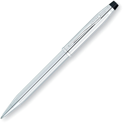Cross Century II - Lustrous Chrome, шариковая ручка, M, BL123