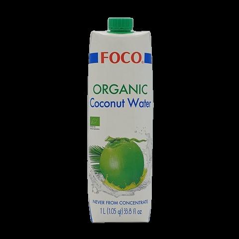 Кокосовая вода Organic FOCO, 1 литр