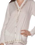 Женская пижама на пуговицах B&B