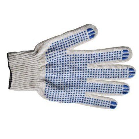 Перчатки 10 класс (6 нитей) с ПВХ (10 пар)