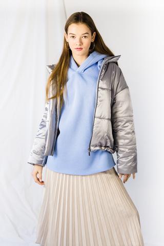 Куртка утеплённая, стёганая, укороченная