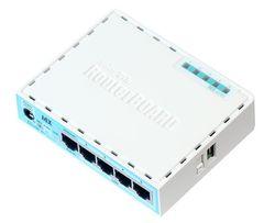 MikroTik RB750Gr3 пятипортовый гигабитный роутер