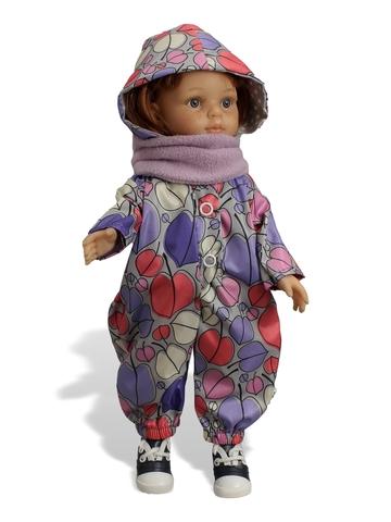 Комбинезон с баской - . Одежда для кукол, пупсов и мягких игрушек.