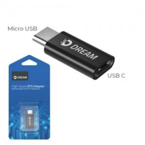 Переходник Type-C на Micro USB Dream