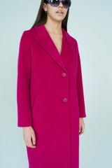 Классическое однобортное пальто