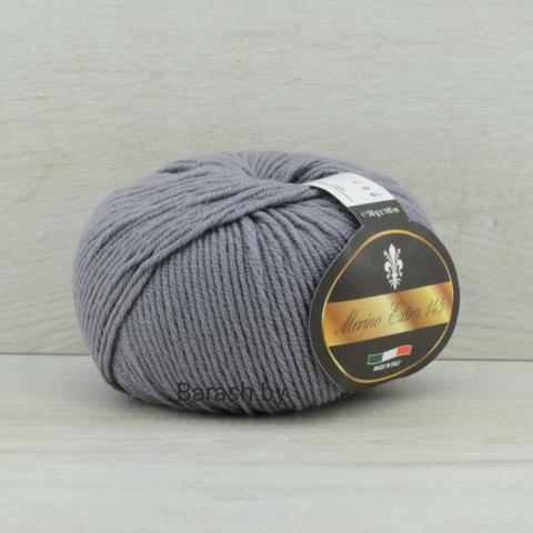 Пряжа Merino Extra 145 (Мерино экстра 145) Серый