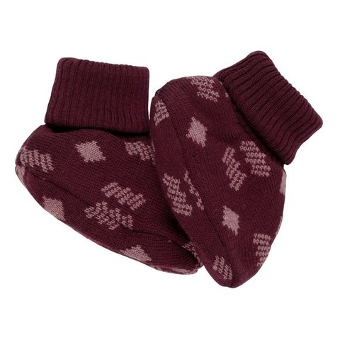 Пинетки Voksi Double Knit Nordic Red