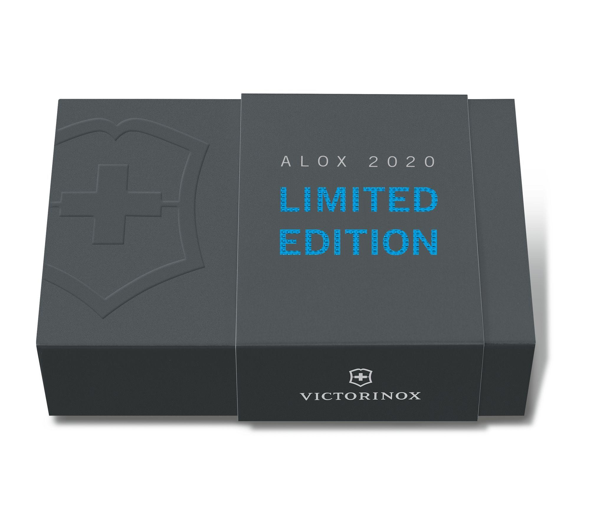 Складной нож Victorinox Pioneer Alox Aqua Blue Limited Edition 2020 (0.8201.L20) -Wenger-Victorinox.Ru