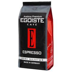 Кофе молотый Egoiste Espresso 250 г (вакуумная упаковка)