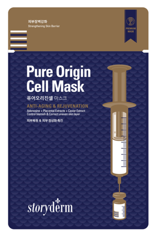Storyderm Silk Mask  Pure Origin Cel Маска от морщин 25 мл