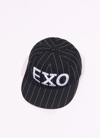 """Кепка """"EXO"""" черная"""