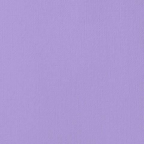 Текстурированный кардсток 30х30 American Crafts Textured Cardstock - Цвет Lavender