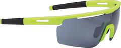 Очки солнцезащитные BBB Avenger PC Smoke flash mirror lenses желтый, серый