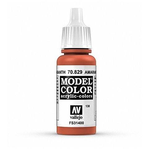 Model Color Amaranth Red 17 ml.