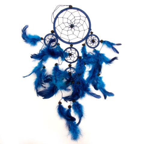 Ловец снов Мир и гармония в доме (синий цвет)