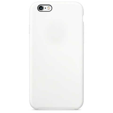 Чехол IP6/6S Silicone Case White