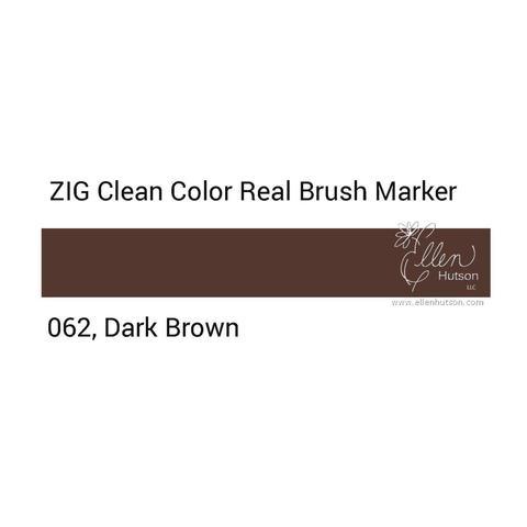 Маркер акварельный ZIG Clean Color Real Brush- штучно - 062