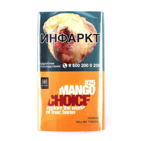 Табак сигаретный Mac Baren MANGO CHOICE 40 гр