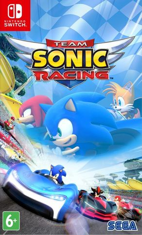 Team Sonic Racing (Nintendo Switch, русские субтитры)