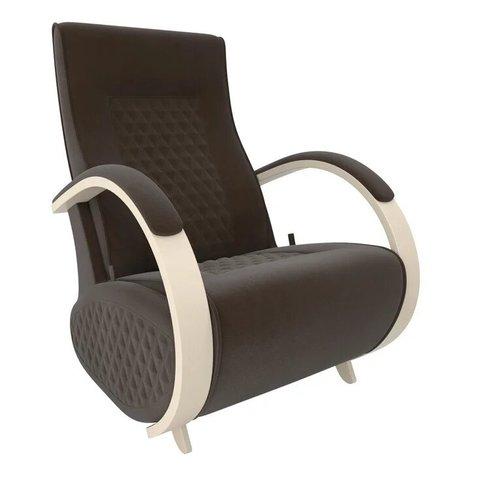 Кресло-глайдер Balance Balance-3 с накладками, дуб шампань/Verona Brown, 014.003