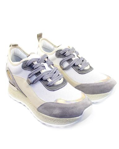 серые кроссовки Alpino