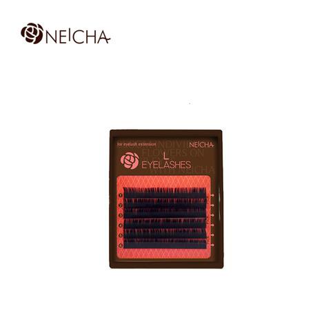 Ресницы NEICHA нейша MIX 6 линий L-изгиб Straight Natural