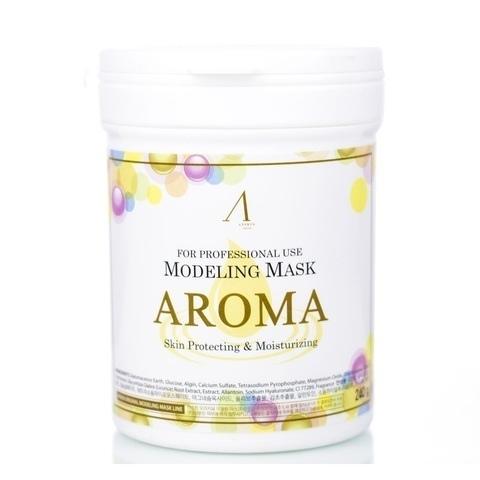 Альгинатная маска антивозрастная питательная Anskin Aroma Modeling Mask (240 гр., банка)