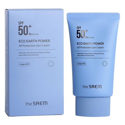 CM Sun  Крем солнцезащитный Eco Earth Power All Protection Sun Cream