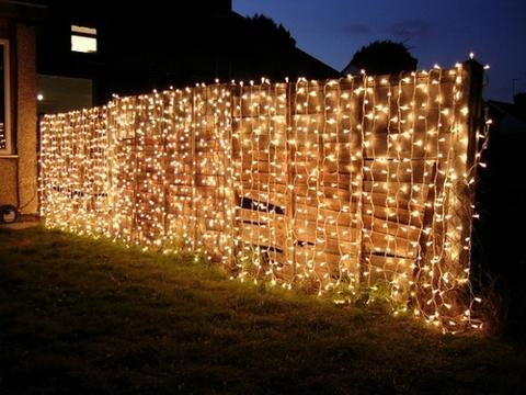 LED Гирлянда 2,5 на 2,5  метра светодиодная лед