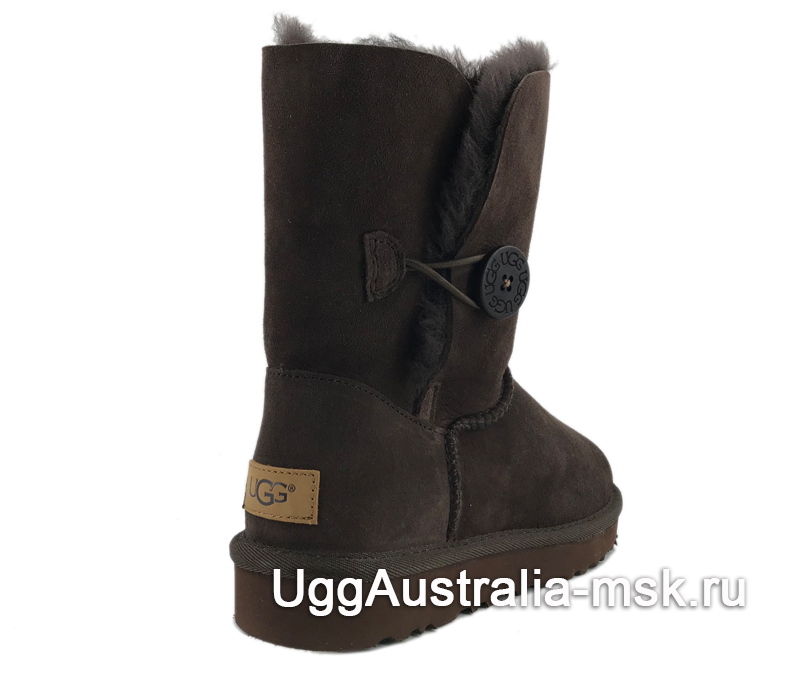 UGG Bailey Button II Chocolate