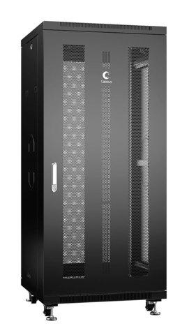 Шкаф напольный 19-дюймовый, 27U ND-05C-27U60/60-BK (8550c)