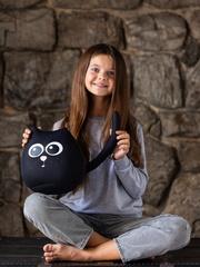 Мягкая игрушка-подушка Gekoko «Кот Уголек» 4